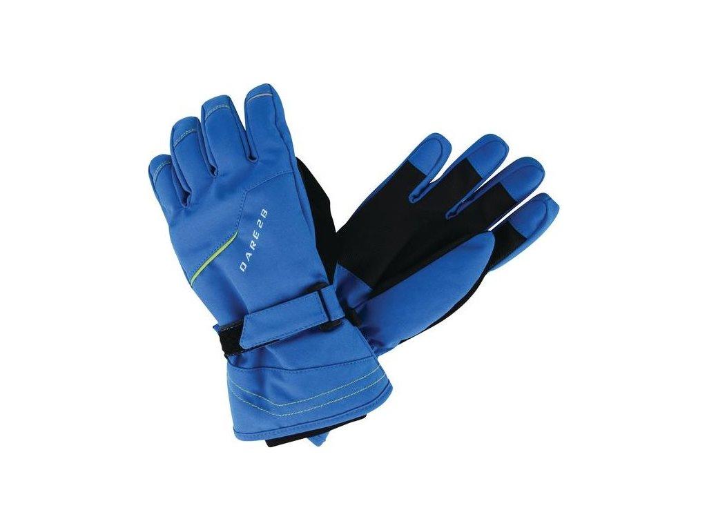 Detské lyžiarske rukavice Dare2B DBG300 HANDFUL Modrá