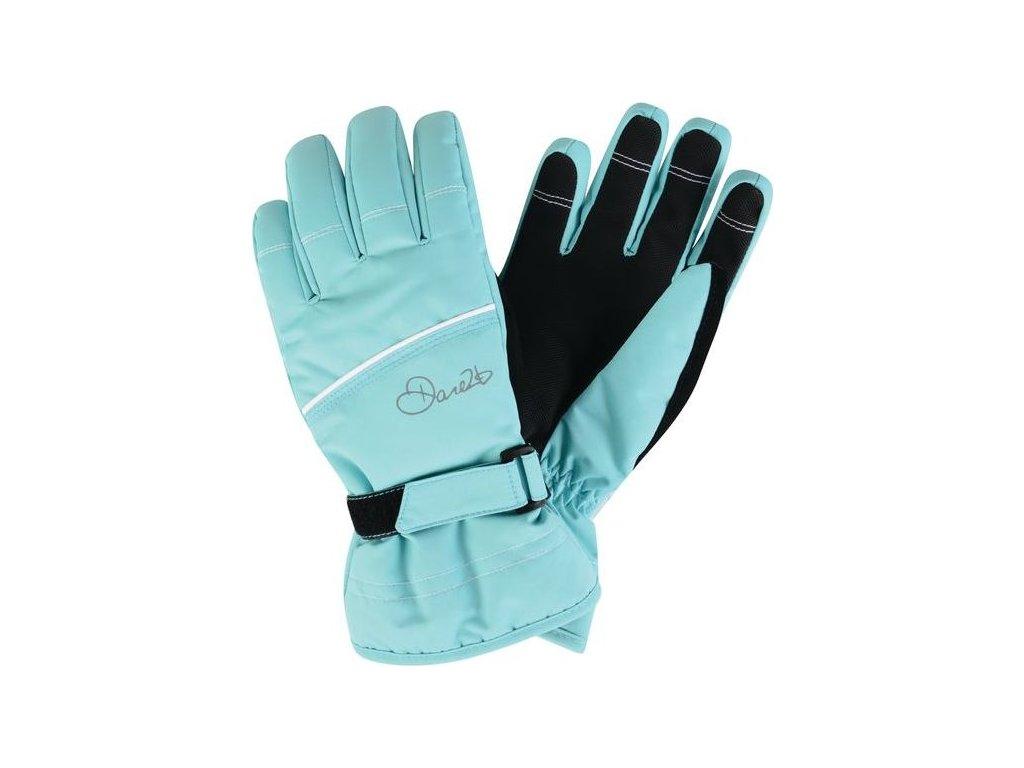 Detské lyžiarske rukavice Dare2B DGG306 HAND PICK II Tyrkysová