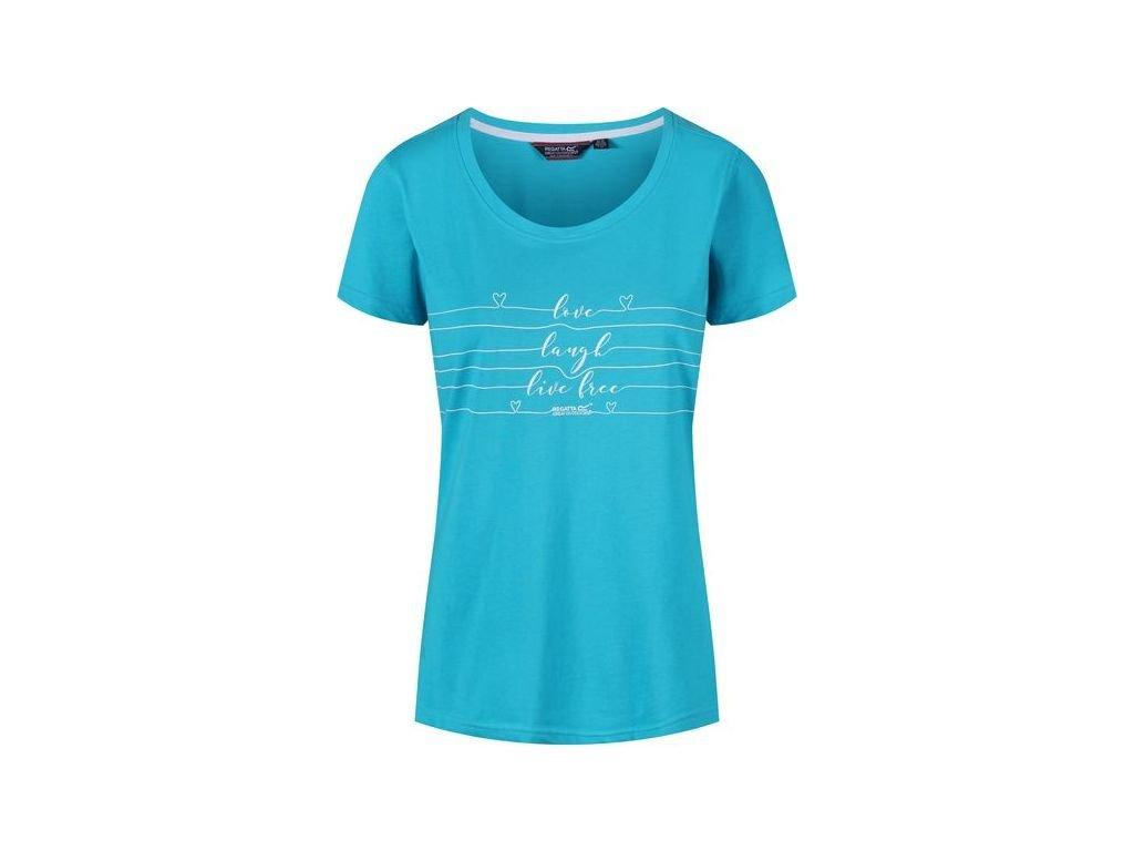 Dámske tričko REGATTA RWT171 Filandra III Modré