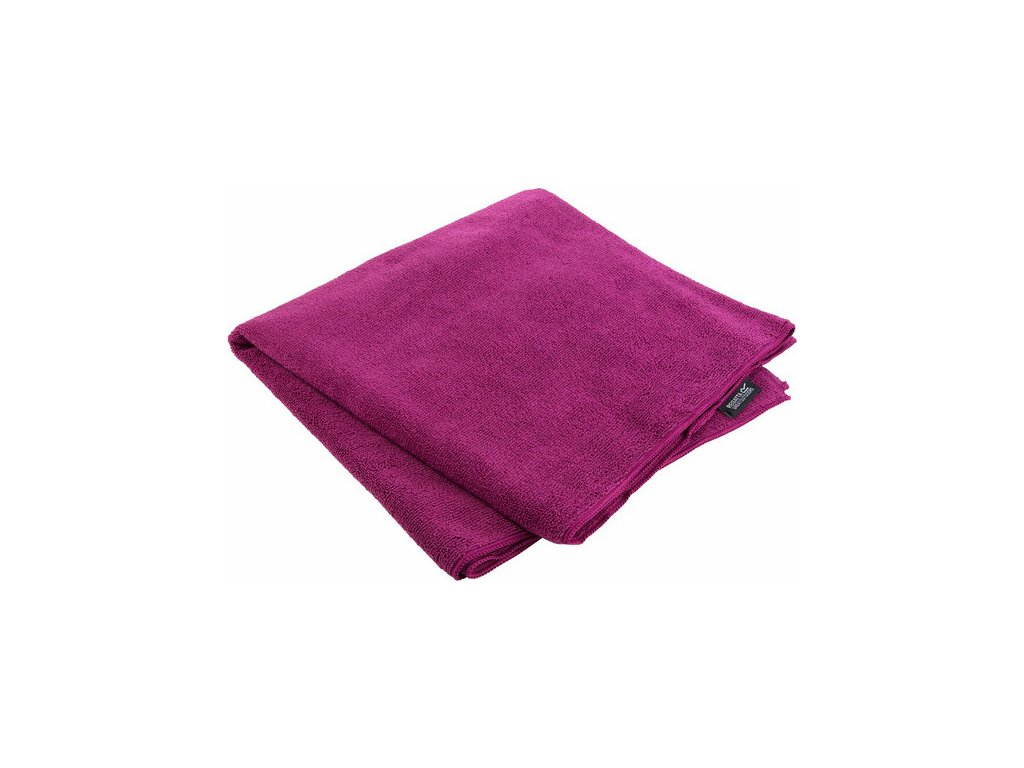 Outdoorový uterák REGATTA RCE136 Travel Towel Lrg Fialový