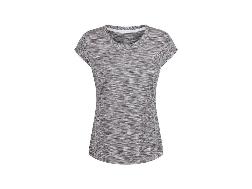 Dámske tričko Regatta RWT140 Wm Hyperdimension Sivá