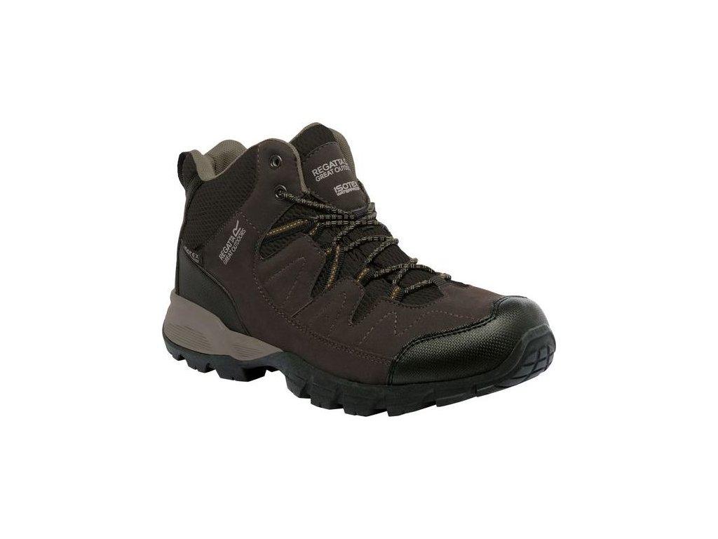 Pánska outdoorová obuv RMF459  Holcombe Mid Hnedá