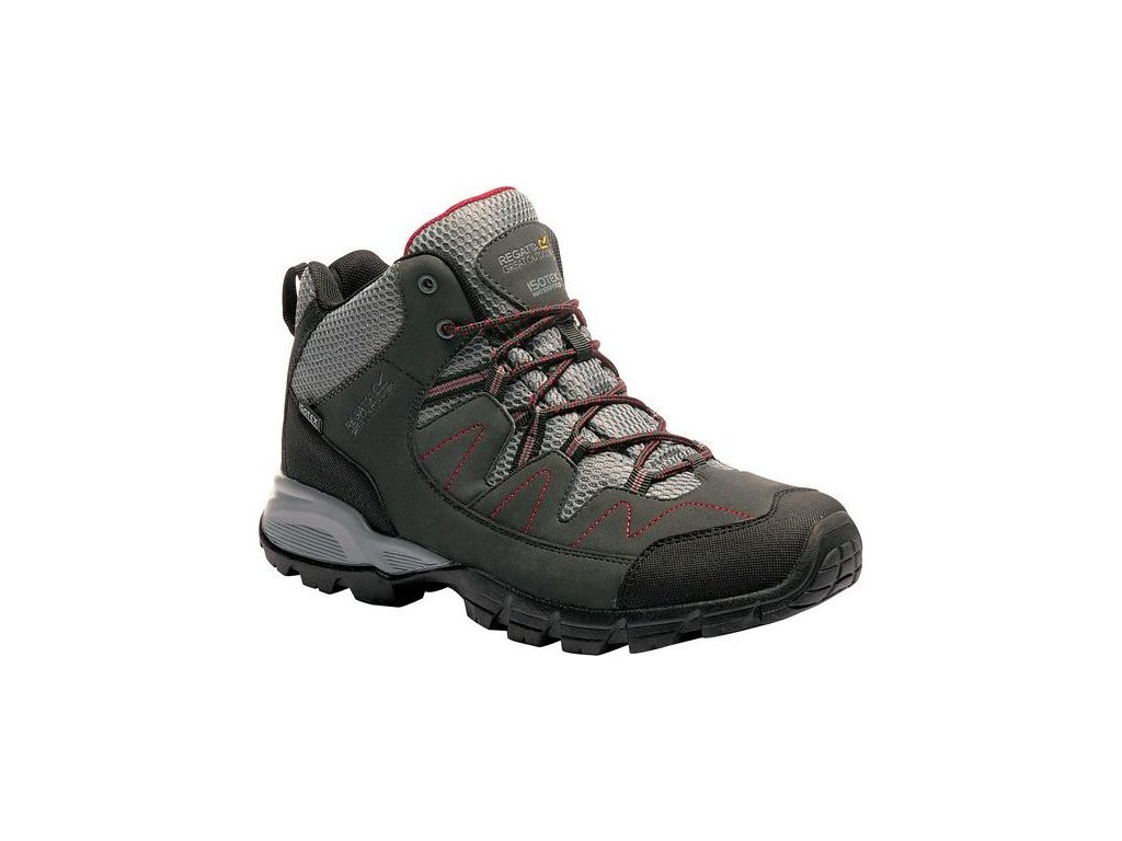 Pánska outdoorová obuv RMF459 Holcombe Mid Sivá