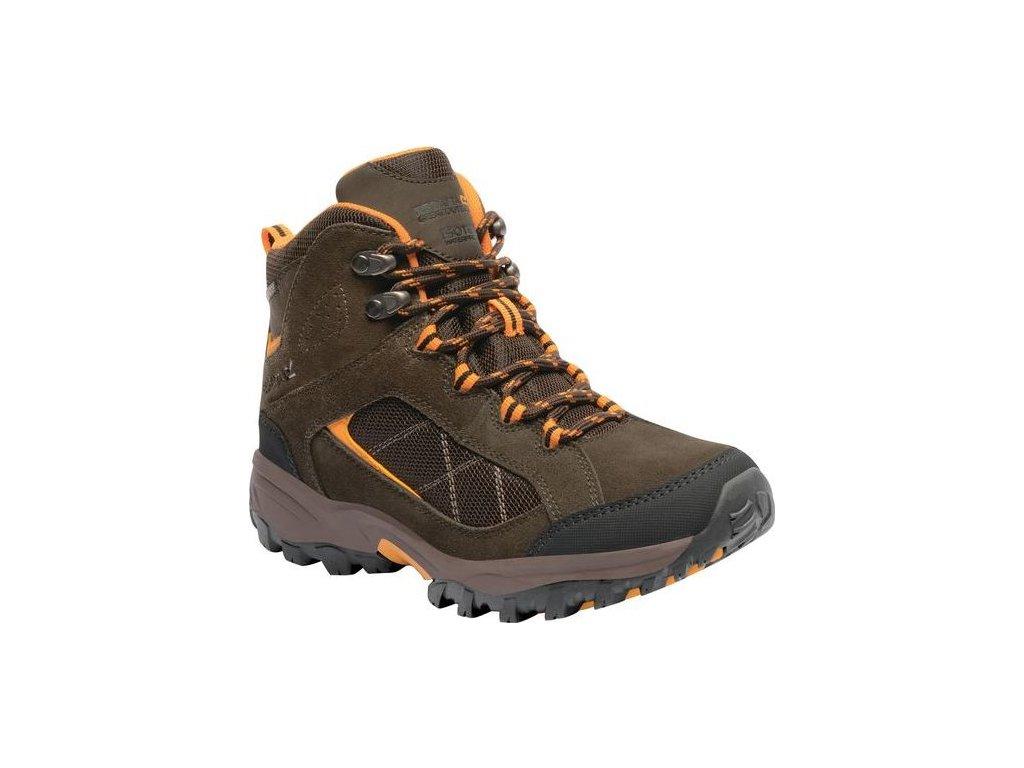 Dámska outdoorová obuv RWF485 REGATTaA Clydebank Hnedá