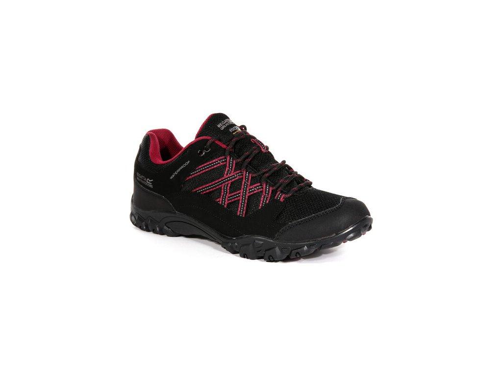 Dámska trekingová obuv RWF617 REGATTA Lady Edgepoint III Čierna