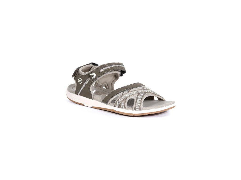 Dámske sandále RWF619 REGATTA  Santa Clara Hnedé