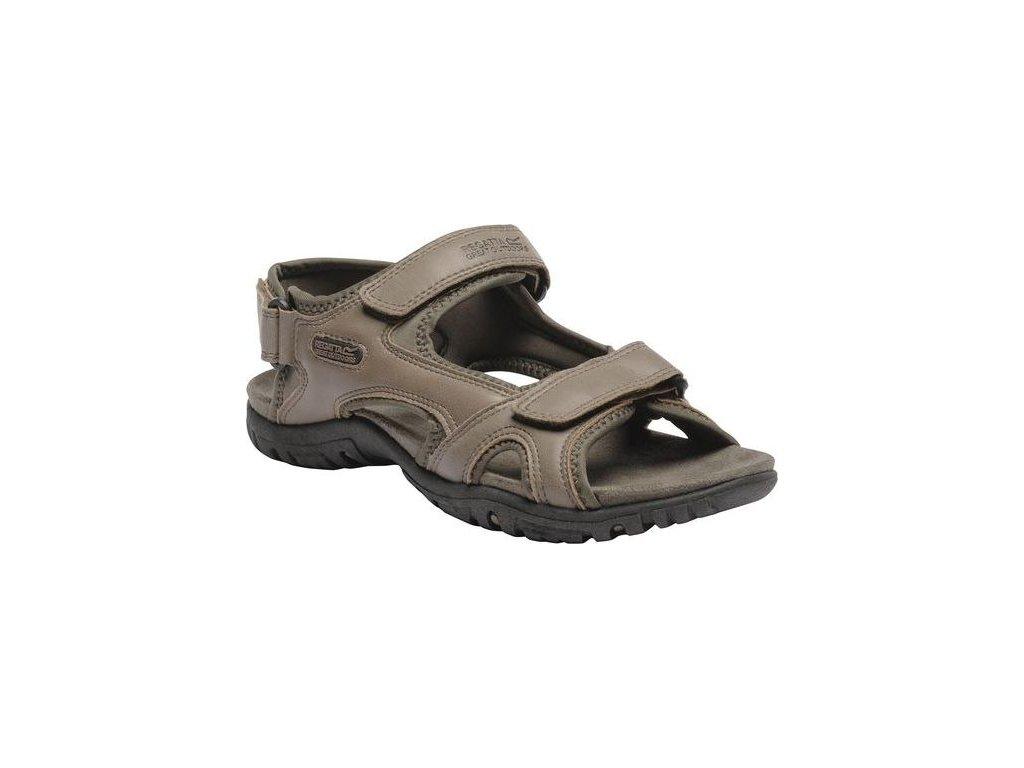 Pánske sandále RMF331 REGATTa Haris Svetlohnedé