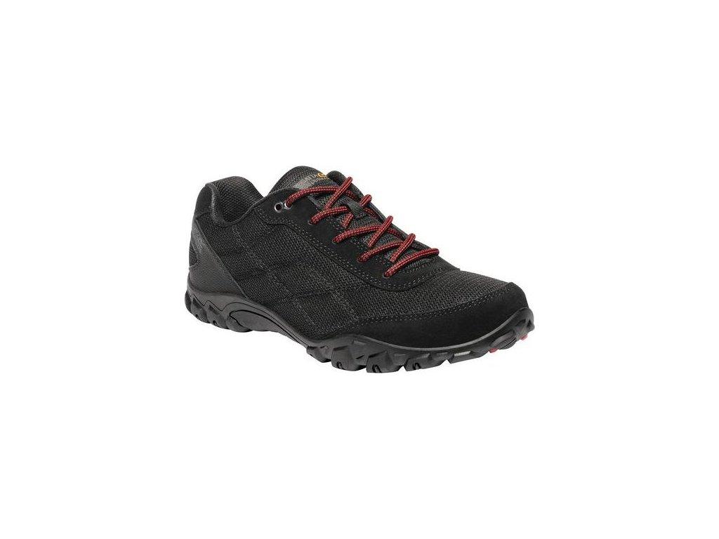 Pánska trekingová obuv RMF618 REGATTA Stonegate II Čierna