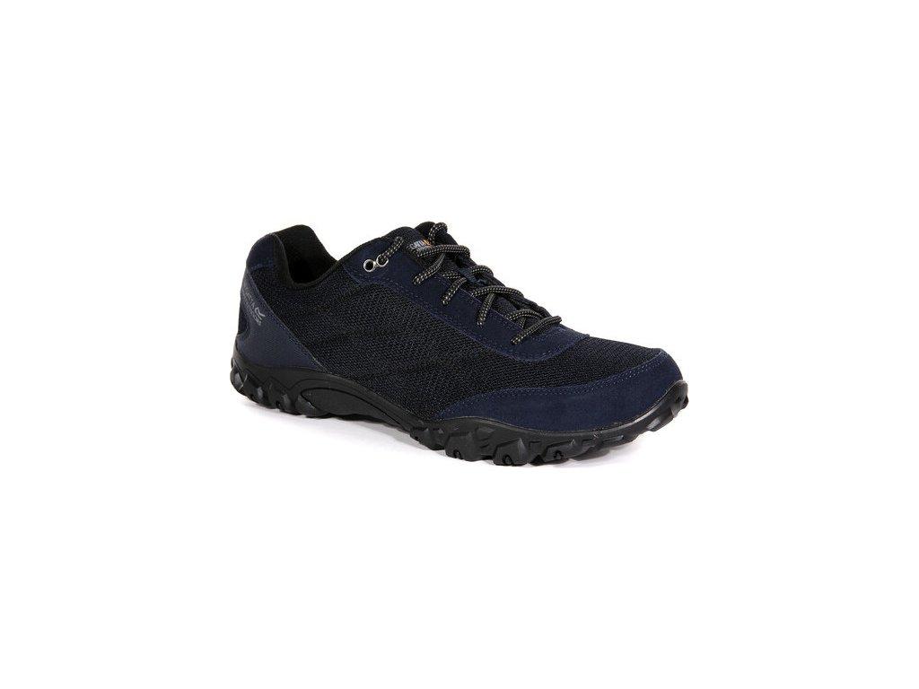 Pánske trekingové topánky RMF618 REGATTA Stonegate II Tmavomodré