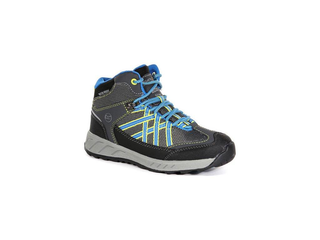 Detská trekingová obuv RKF509 REGATTA Samaris Mid Modrá