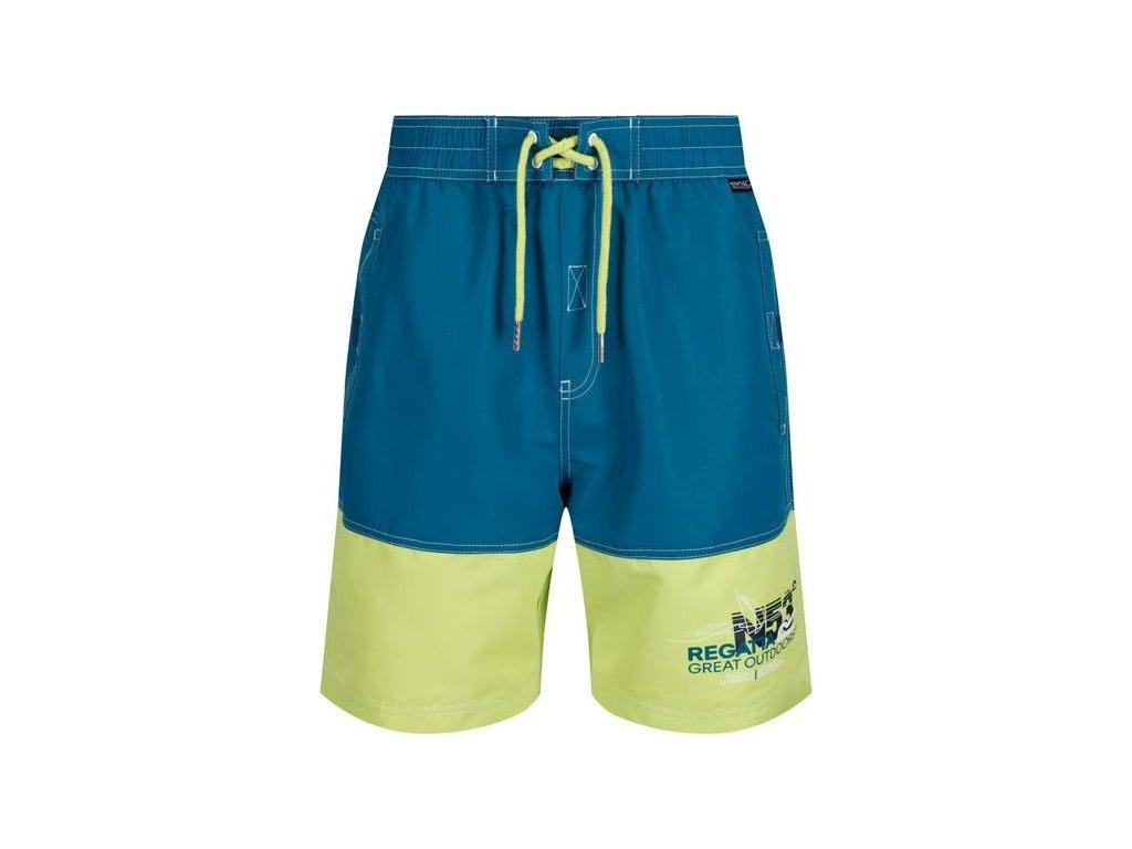 Športové plavky / šortky REGATTA RMM010 Bratchmar III Tyrkysové