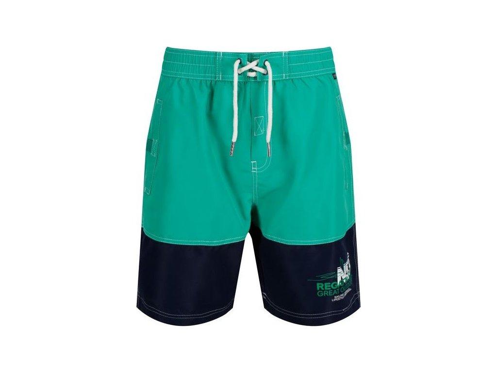 36539 sportove plavky sortky regatta rmm010 bratchmar iii zelene