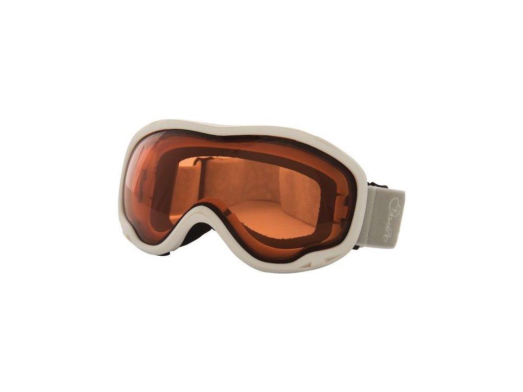 Dámske lyžiarske okuliare DUE339 DARE2B Velose Adult Gogg Biele