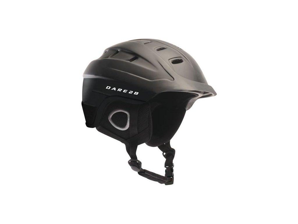 Lyžiarska prilba DUE336 DARE2B Guarda Adult Helm Čierna