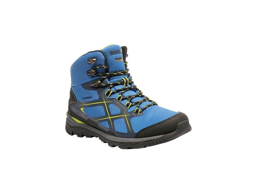 Pánske trekové topánky RMF490 REGATTA Kota Mid Modré
