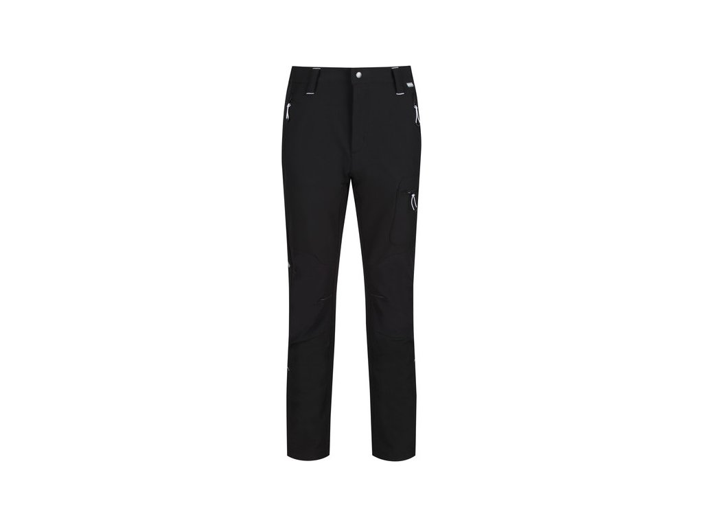 Pánske outdoorové nohavice Regatta RMJ225R Questra II Čierne