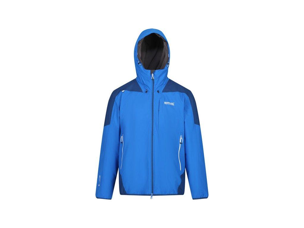 Pánska zimná bunda Regatta RMP277 Langa Stretch Modrá