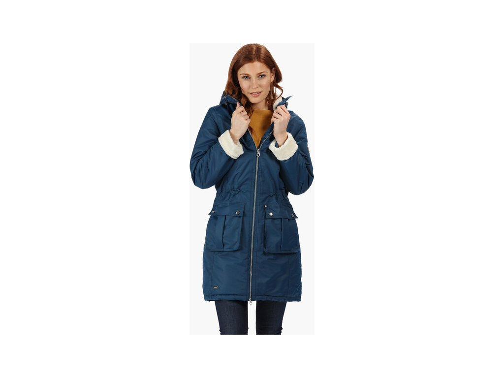 Dámsky kabát Regatta RWP260 ROMINA Modrý