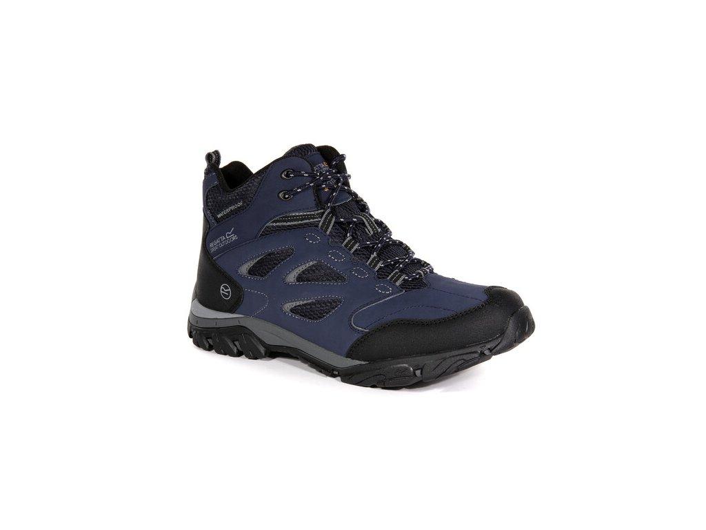 Pánska outdooorová obuv RMF573 REGATTA Holcombe IEP Mid Modrá