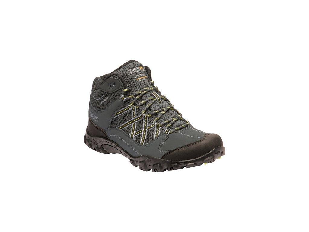 Pánska treková obuv REGATTA RMF622 Edgepoint Mid Sivá