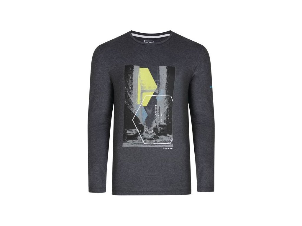 Pánske tričko DARE2B DMT452 Fused Tee Tmavo Sivé