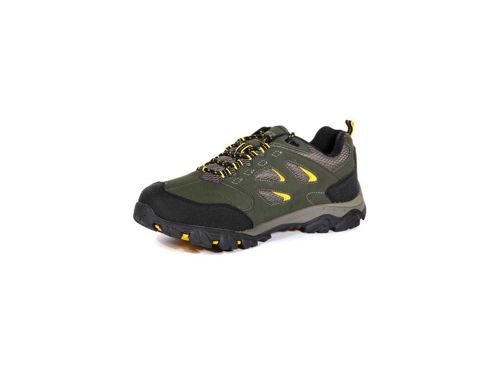 Pánska outdooorová obuv  Regatta RMF572 Holcombe Khaki