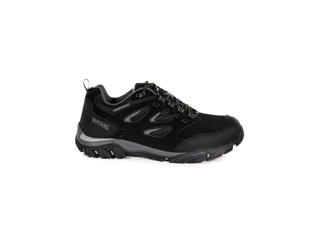 Pánska outdooorová obuv Regatta RMF572 Holcombe Čierna