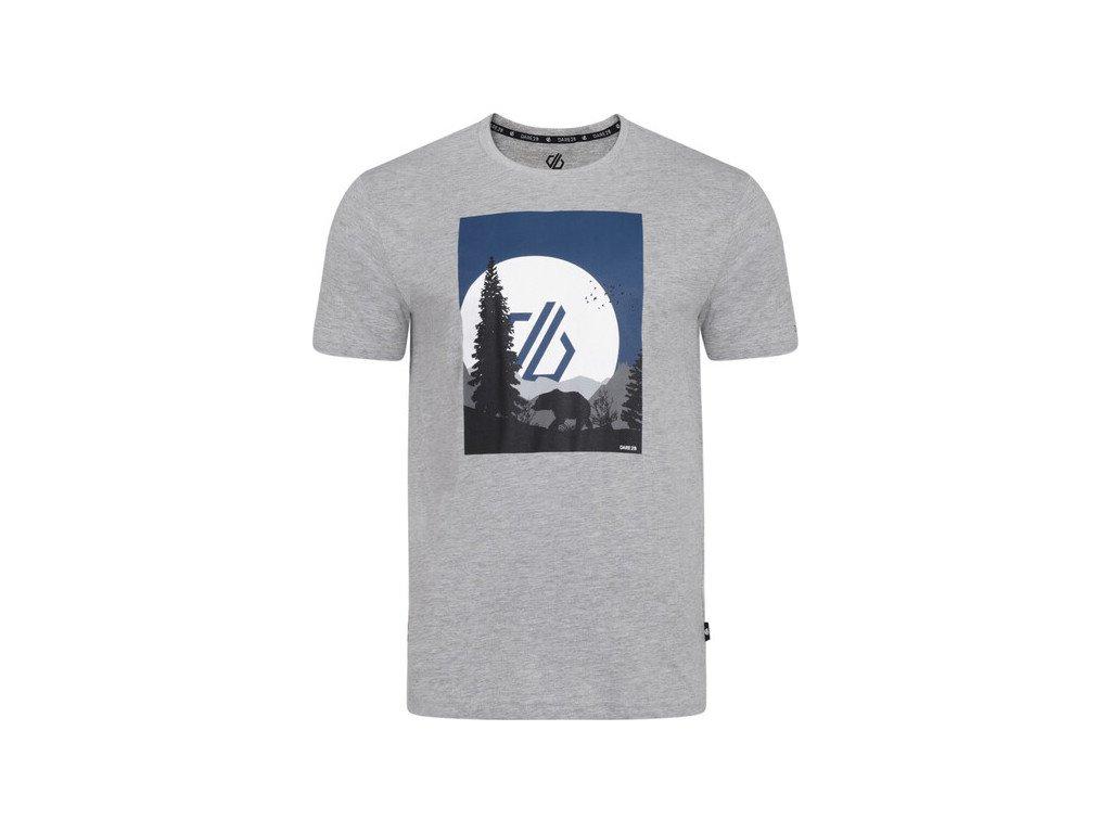 Pánske tričko DMT489 Dare2B Strife Tee Sivé
