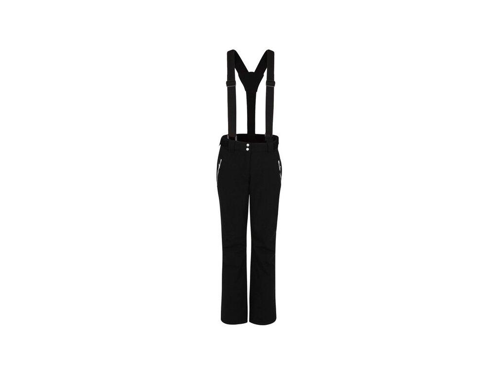 Dámske lyžiarske nohavice DWW460 DARE2B Effused Čierne
