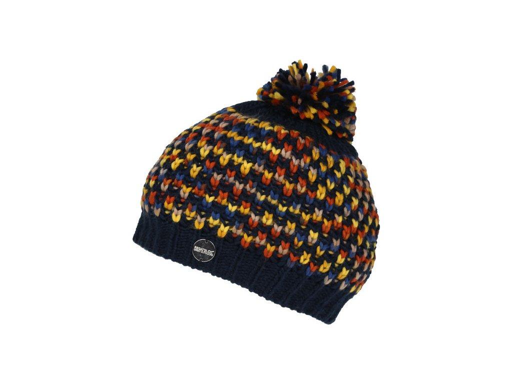 Dámska zimná čiapka REGATTA RWC100 Frosty Hat III Tmavo modrá