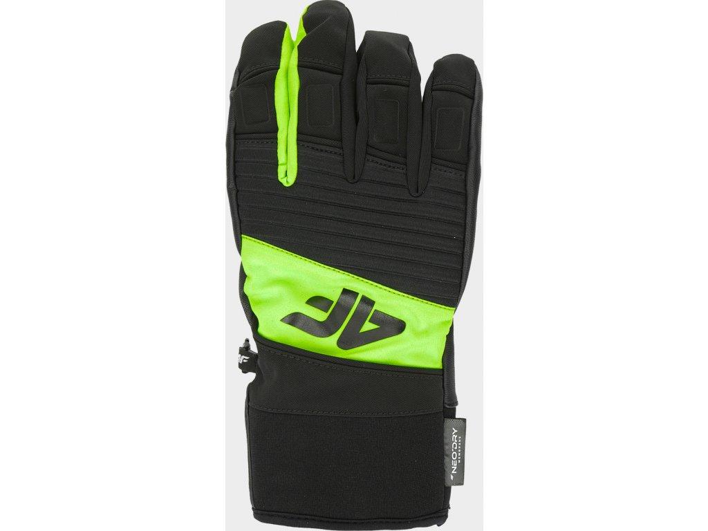 Pánské lyžařské rukavice 4F REM250 Zelené