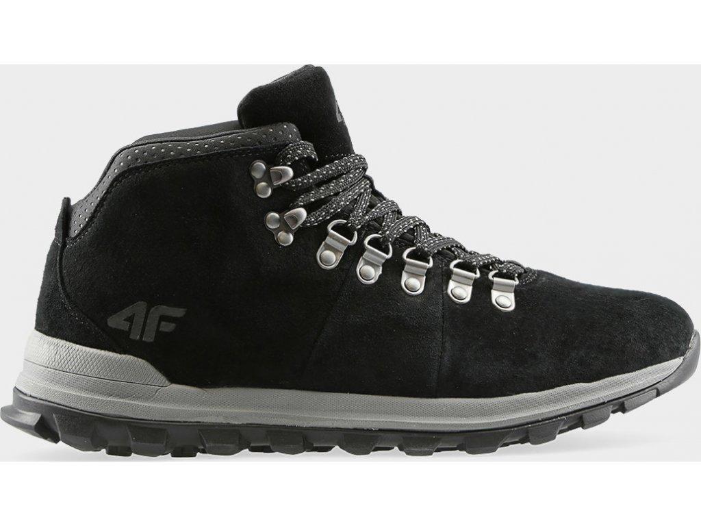 Pánska vychádzková obuv 4F OBMH204 Čierna