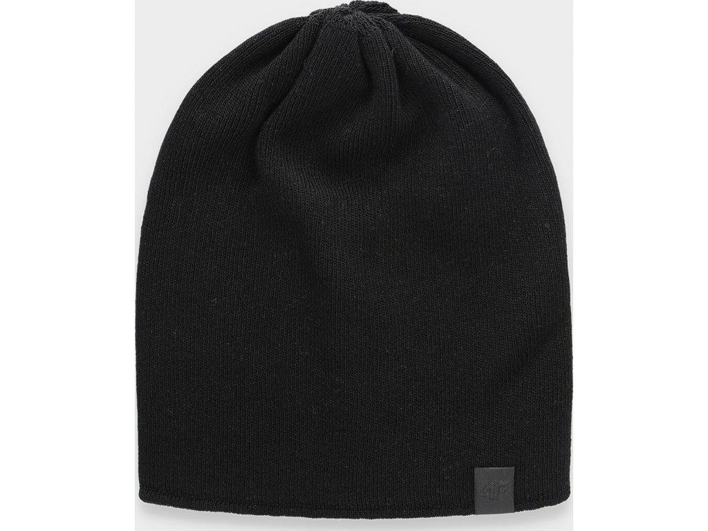 Dámska čiapka 4F CAD161 Čierna