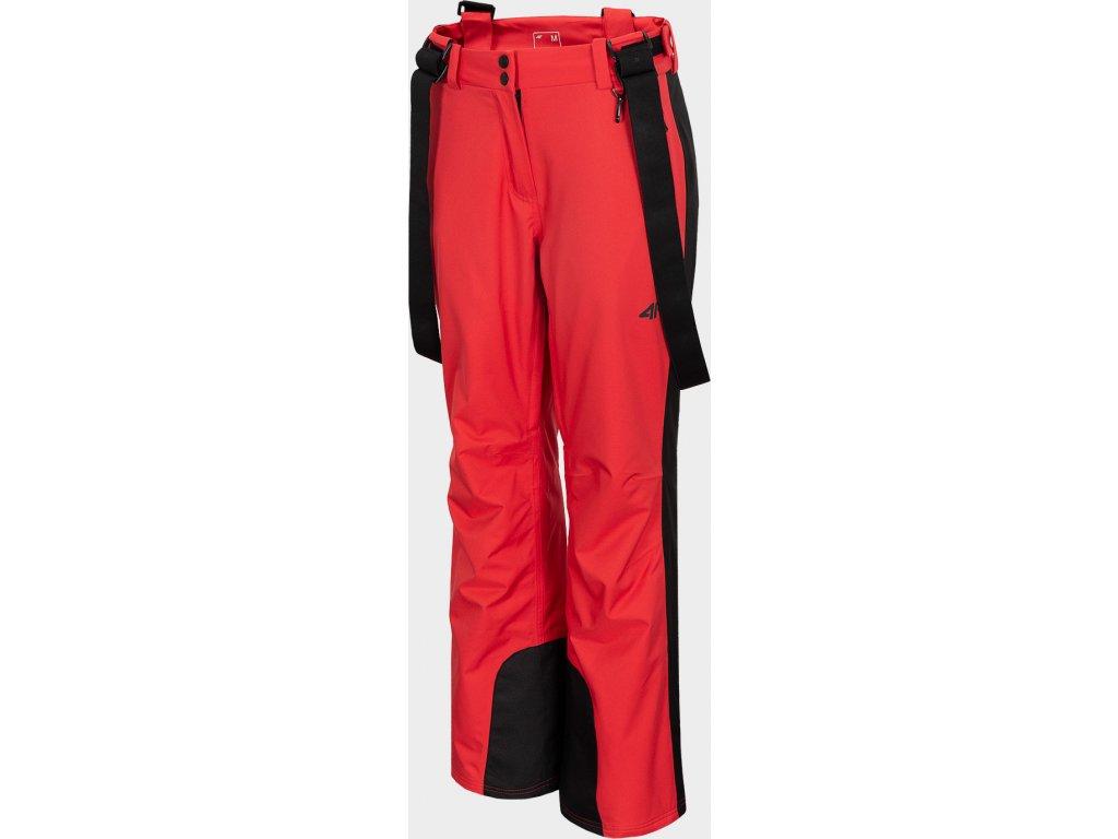 Dámské lyžařské kalhoty 4F SPDN201 Červené