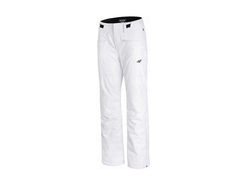 Dámske lyžiarske nohavice 4F SPDN004 Biele