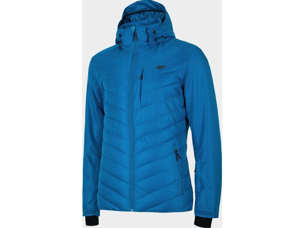 Pánska lyžiarska bunda 4F KUMN004 Modrá