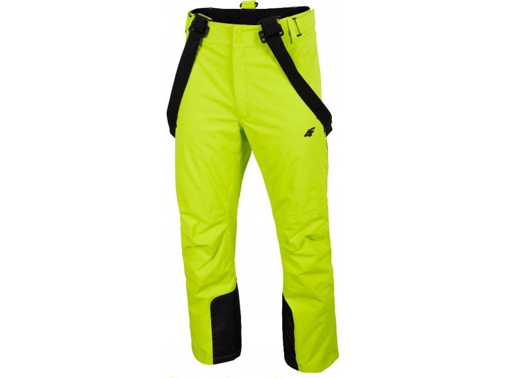 Pánske lyžiarske nohavice 4F SPMN012 Zelené