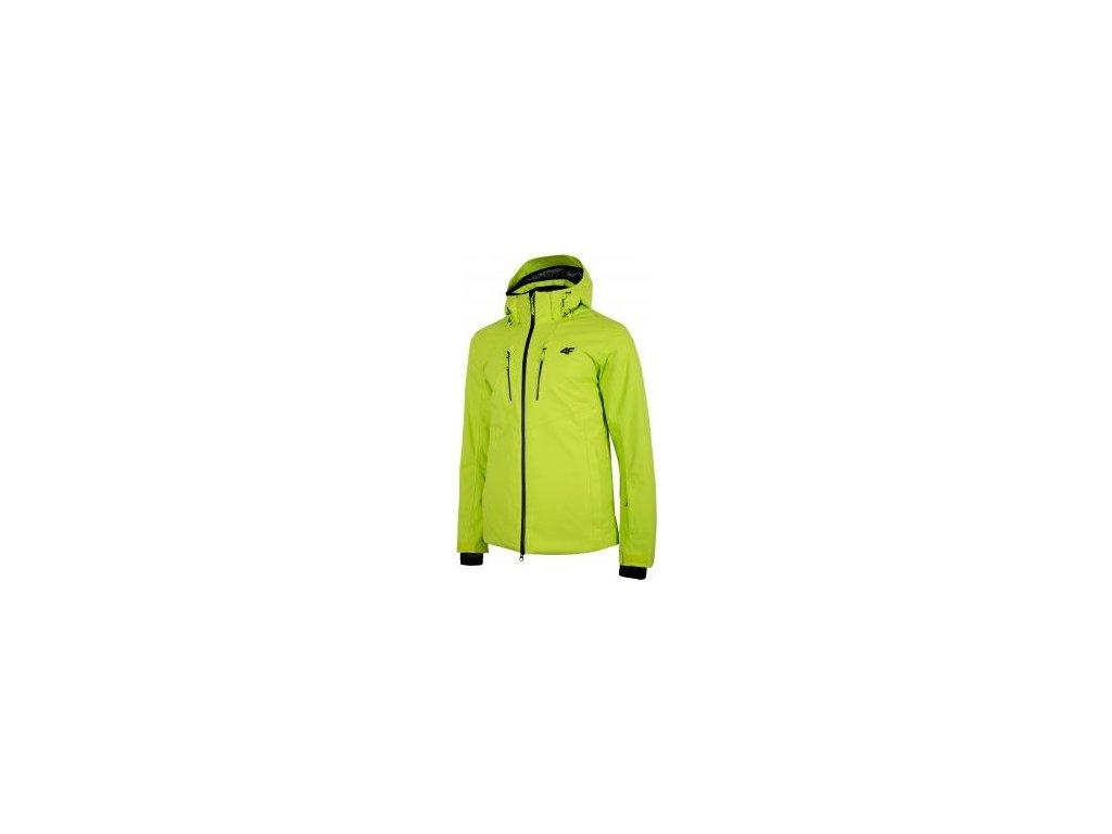 Pánska lyžiarska bunda 4F KUMN153 Zelená
