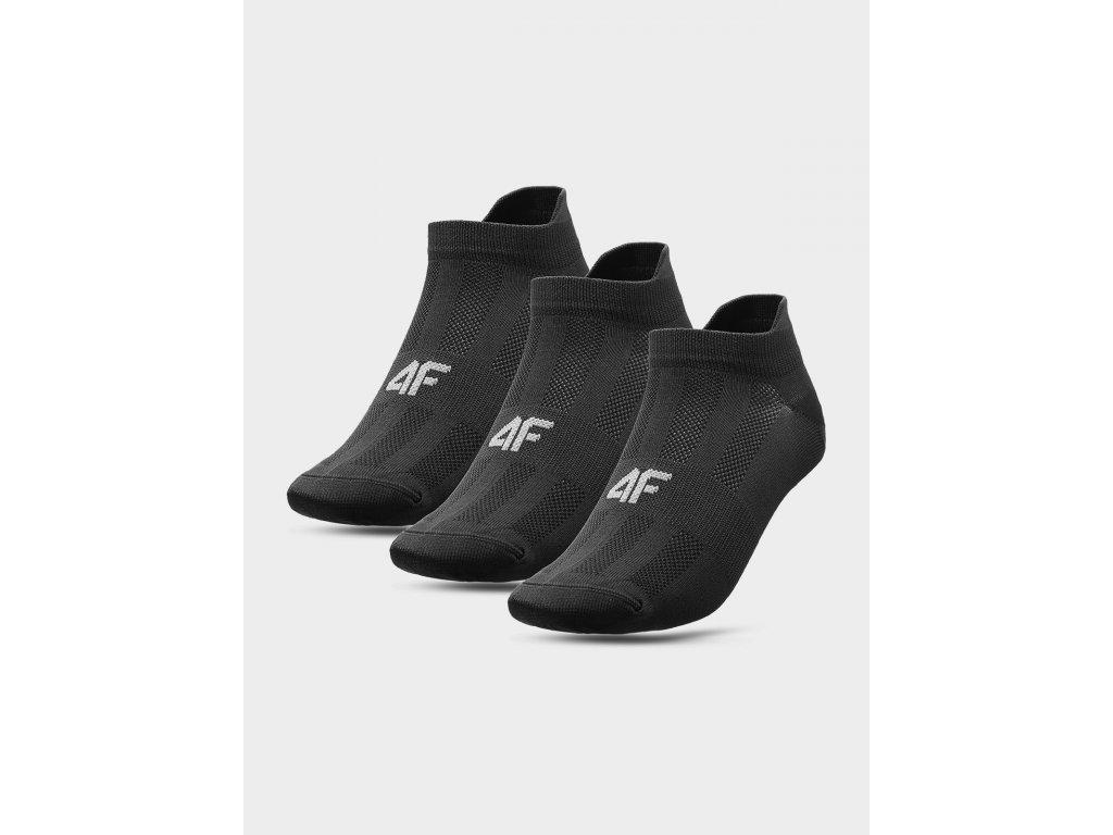 Pánské sportovní ponožky 4F SOM213 Černé ( 3 páry)
