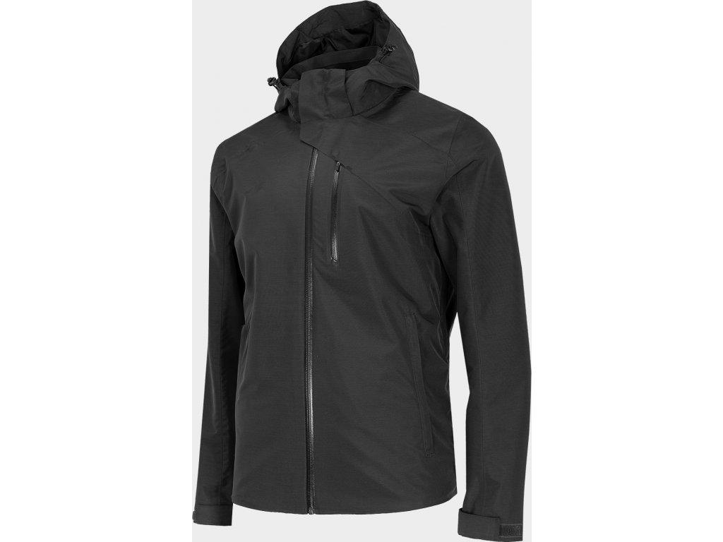 Pánska outdoorová bunda 4F KUM200 Čierna