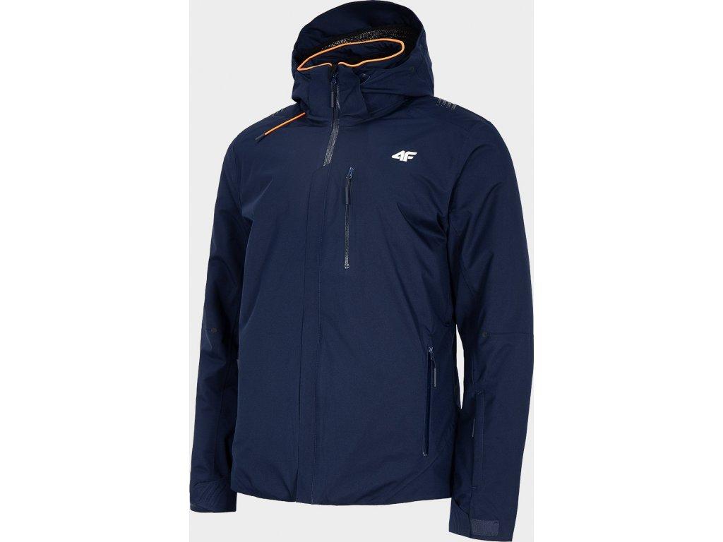 Pánska lyžiarska bunda 4F KUMN010 Tmavo modrá
