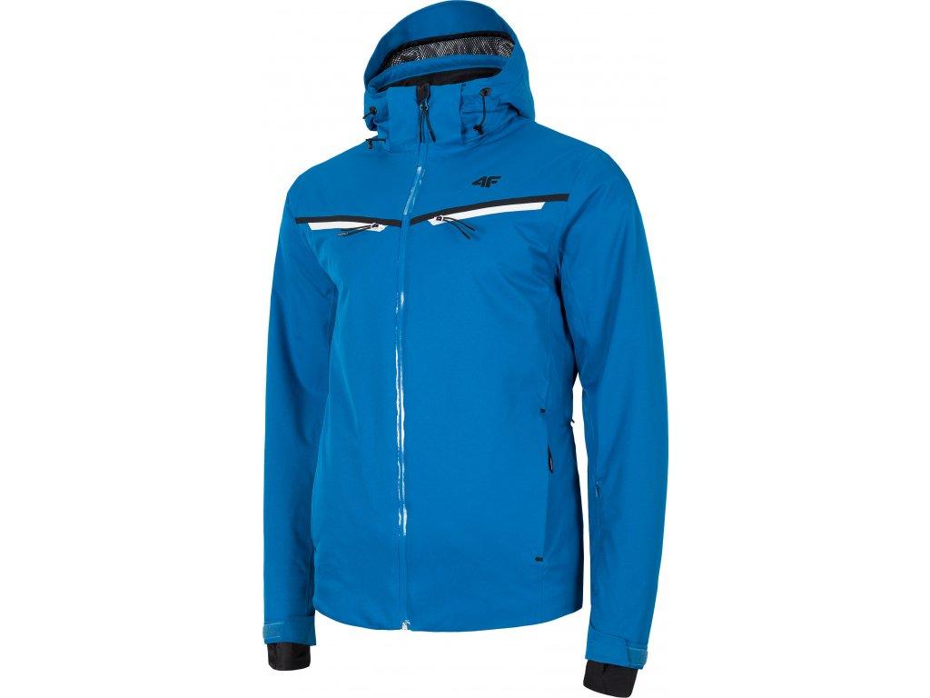 Pánska lyžiarska bunda 4F KUMN007 Modrá
