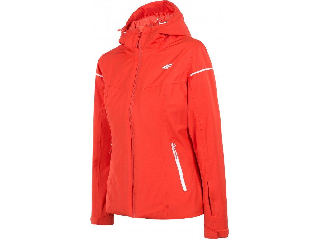 Dámska lyžiarska bunda 4F KUDN070 Červená