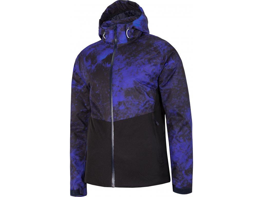 Pánska lyžiarska bunda 4F KUMN005A multikolor-modrá