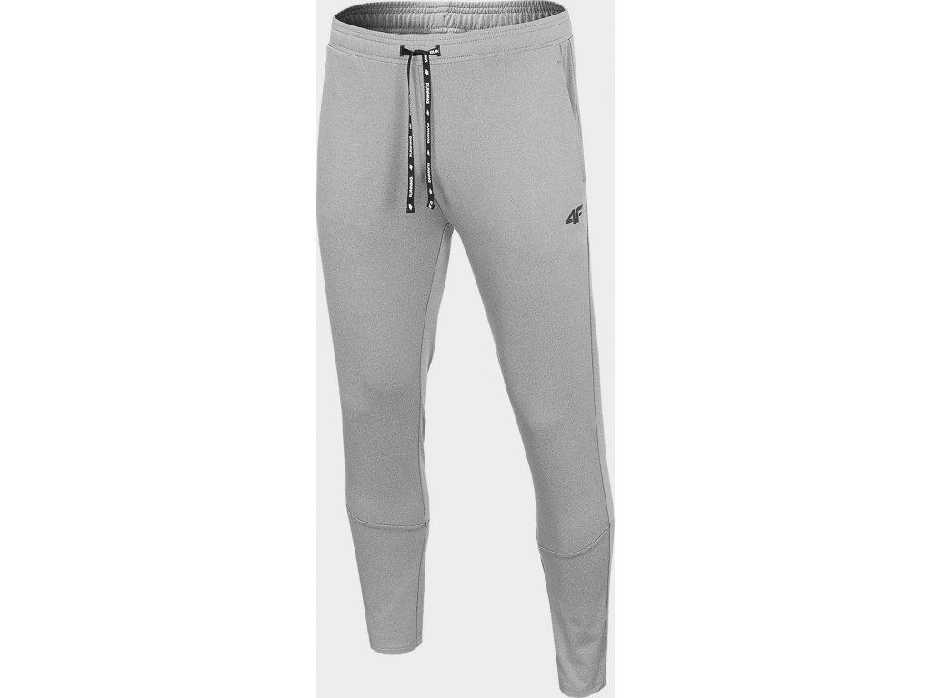 Pánské běžecké kalhoty 4F SPMTR271 Šedé