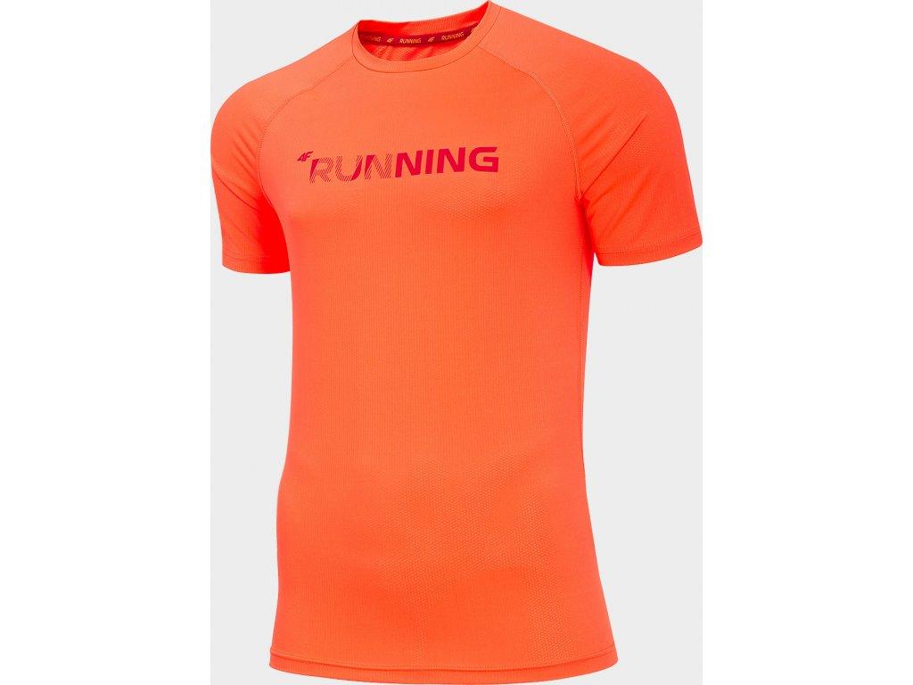 Pánské funkční tričko 4F TSMF276 Oranžové