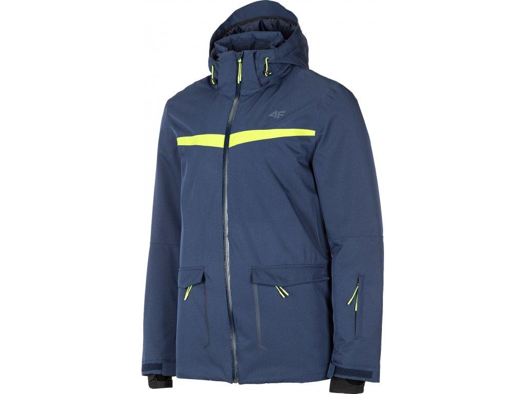 Pánska lyžiarska bunda 4F KUMN008 Tmavo modrá