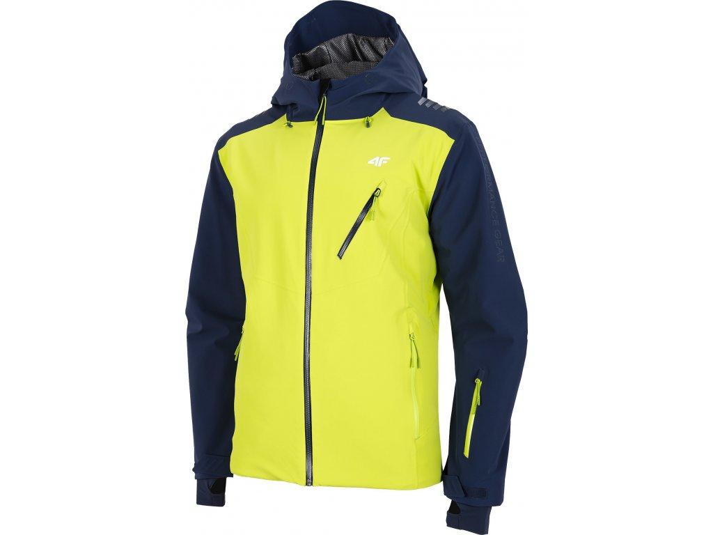 Pánska lyžiarska bunda 4F KUMN013 Tmavo modrá