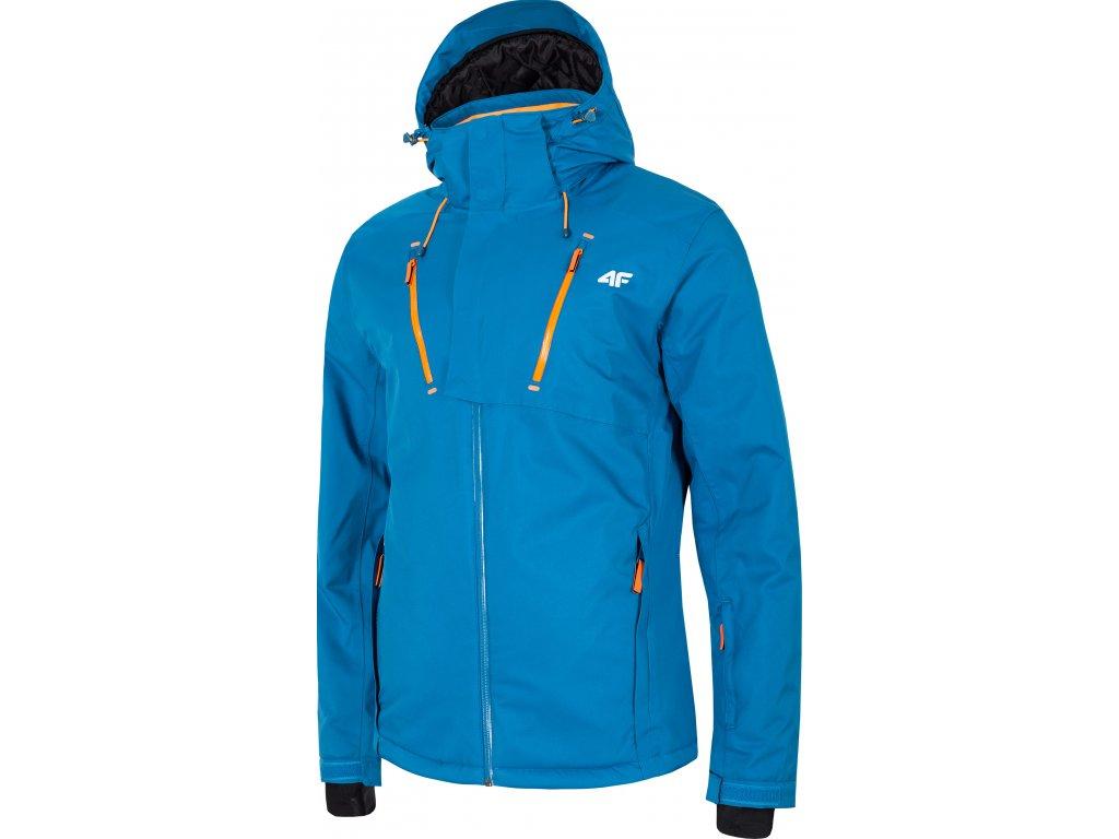 Pánska lyžiarska bunda 4F KUMN072 Modrá