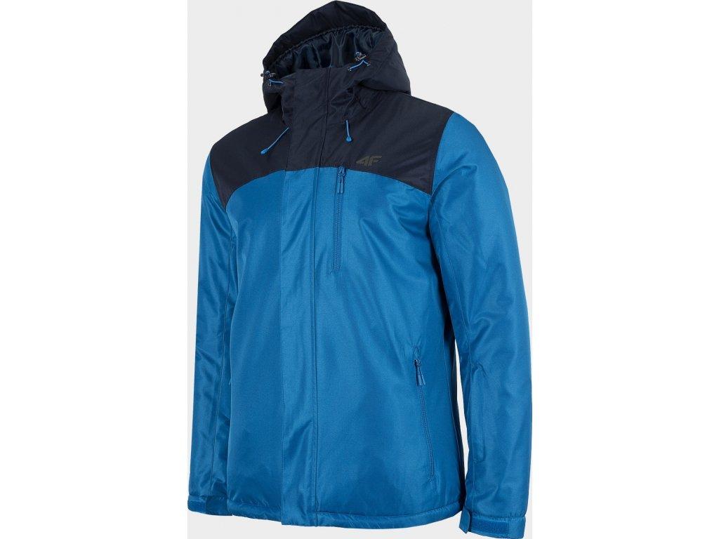 Pánska lyžiarska bunda 4F KUMN002 Modrá